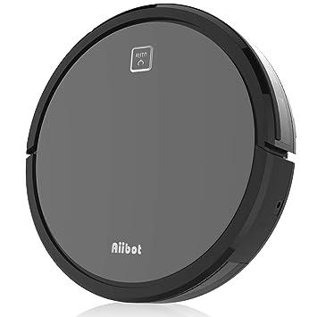 Aiibot V9S Robot Aspirador Función de Reserva Inteligente Fuerte Succión Limpieza Perfecta con Sensor Infrarrojo