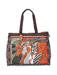 Laurel Burch Moroccan Mares Travel Bag, 20 by 9 by 16-Inch