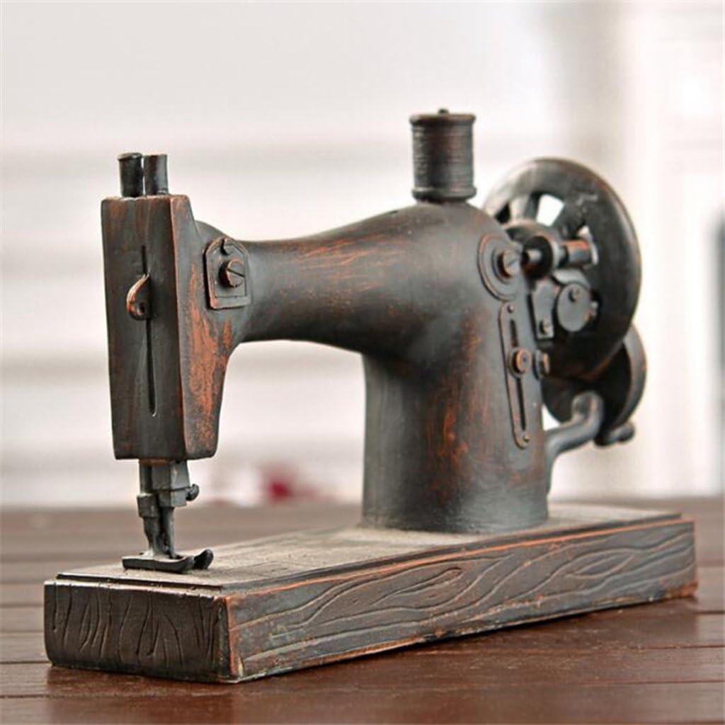 Longless Vintage antigua máquina de coser Modelo Decoración ...