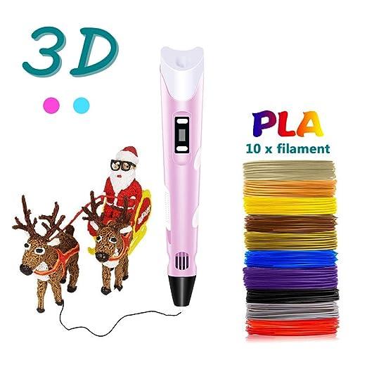 MIAO. 3D Pen Impresión - Regalo de cumpleaños para los niños ...