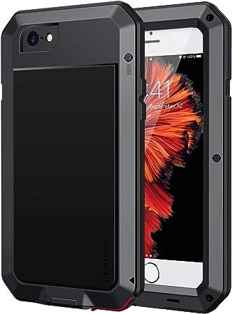 Focusor Cover iPhone 6,Cover iPhone 6S Antiurto[Resistente e Rugged] Robusta e Militare,Custodia Anticaduta,con Protezione dello Schermo Integrata per ...