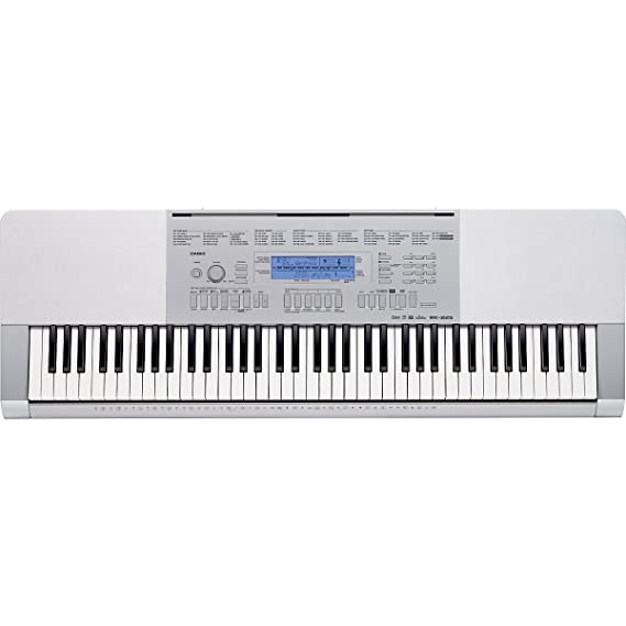 Amazon.com: Casio WK-225 76-Key Touch Sensitive Keyboard with Power Supply: Musical Instruments