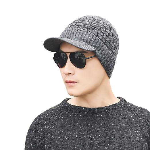 Amazon.com  ZX Fashion Brick Pattern Men Winter Soft Warm Cap Neck Sleeve  Scarf Wrap  Clothing 43414a012b3