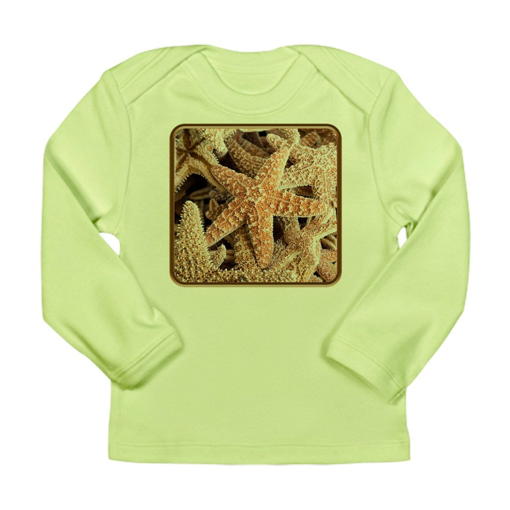 Truly Teague Long Sleeve Infant T-Shirt Collection Of Starfish Kiwi 18 To 24 Months