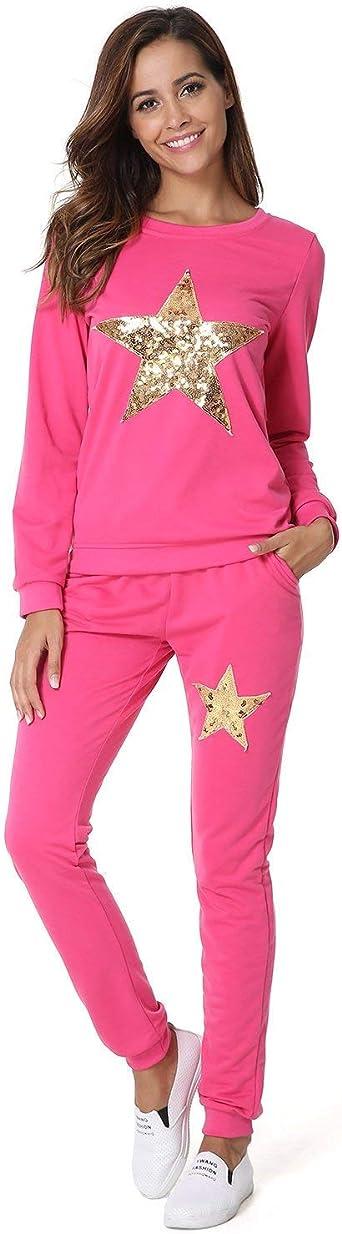 Pijamas Mujer Elegantes Moda Casuales Ropa para El Hogar ...