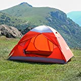 WolfWise 3-Person Backpacking Tent Camping Family tent Water Resistant with Carry Bag