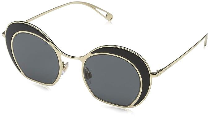 Armani Giorgio 0AR6073 Gafas de Sol, Black/Pale Gold 46 para ...
