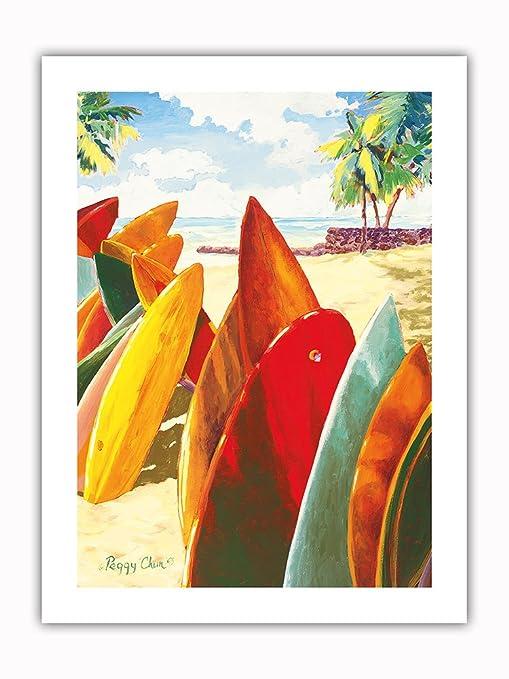 Pizarras de Surf con diseño de Islas del Pacífico - Tablas ...