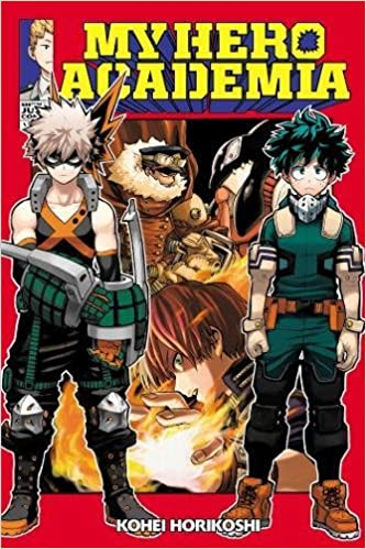 Image result for my hero academia vol 13