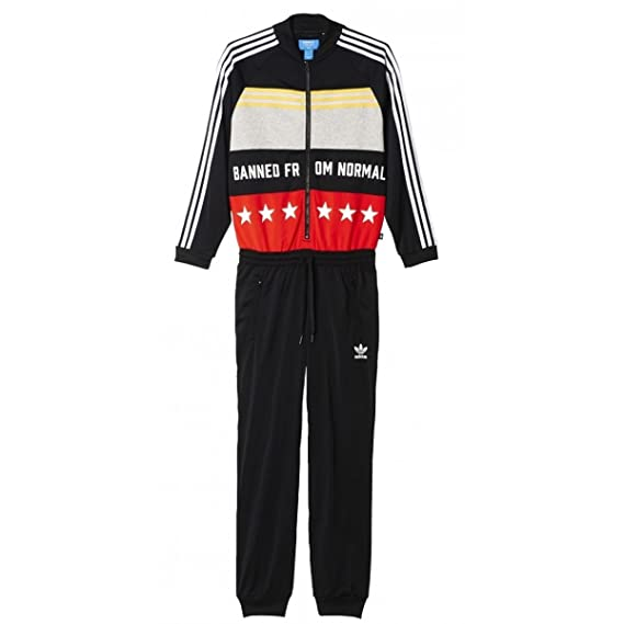 d686cc3c49f9b adidas Originals Women by Rita Ora Banned From Normal Onesuit:  Amazon.co.uk: Clothing