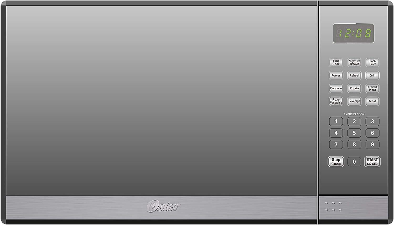 Amazon.com: Oster 1.3 Cu. Horno microondas con parrilla ...