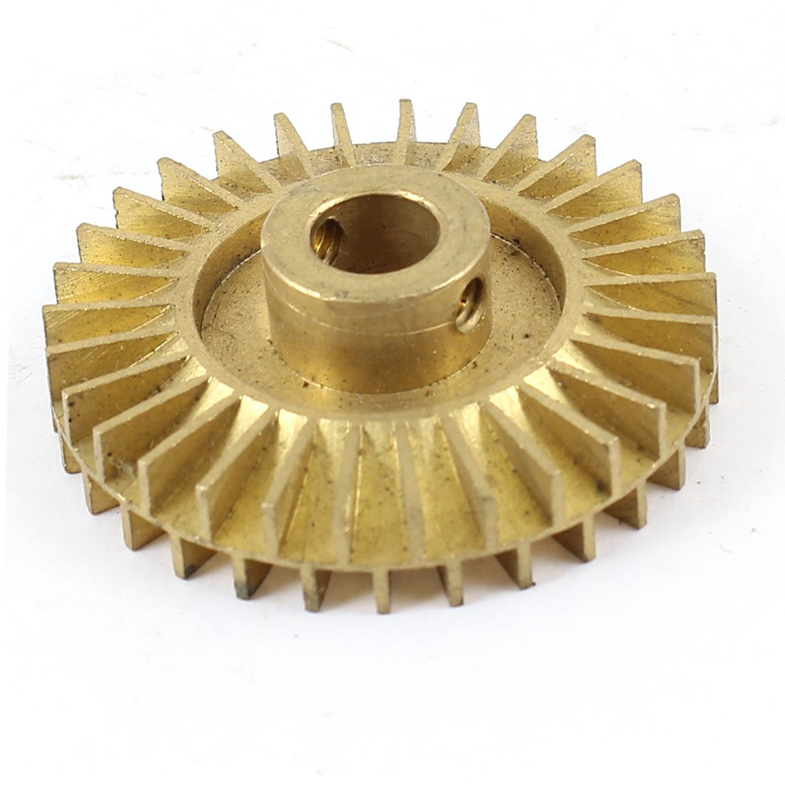 Water Pump Replacement Double Side 42mm Dia Gold Tone Brass Impeller Sourcingmap a13112700ux0152