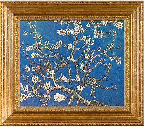[해외]Hand-Painted Reproduction of Van Gogh Branches of An Almond Tree In Blossom / Hand-Painted Reproduction of Van Gogh Branches of An Almond Tree In Blossom