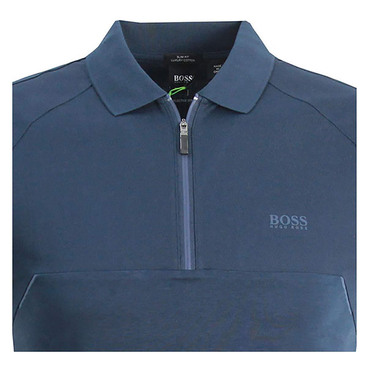 07a697696 Amazon.com: Hugo Boss Mens Polos Philix 1 Navy 50399460 410: Clothing