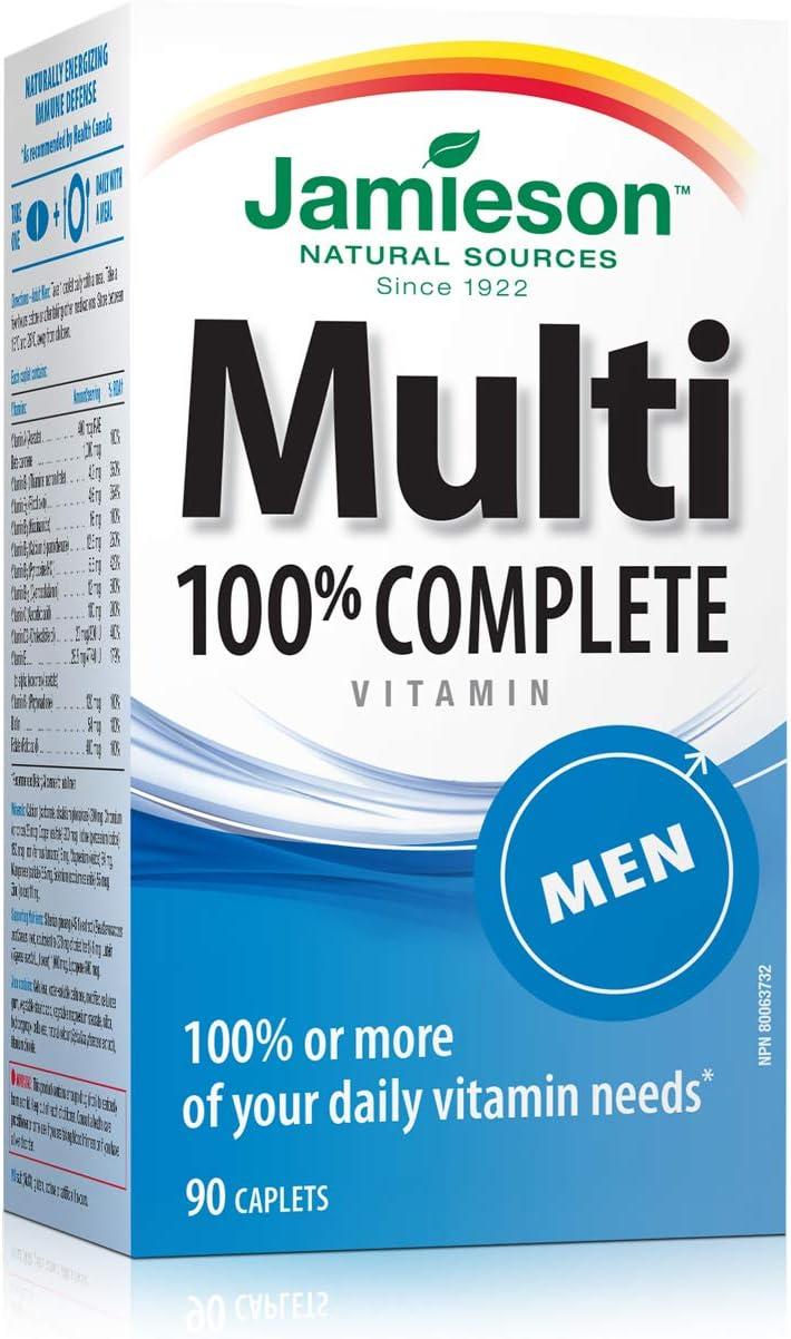 Jamieson Power vitamin para hombres
