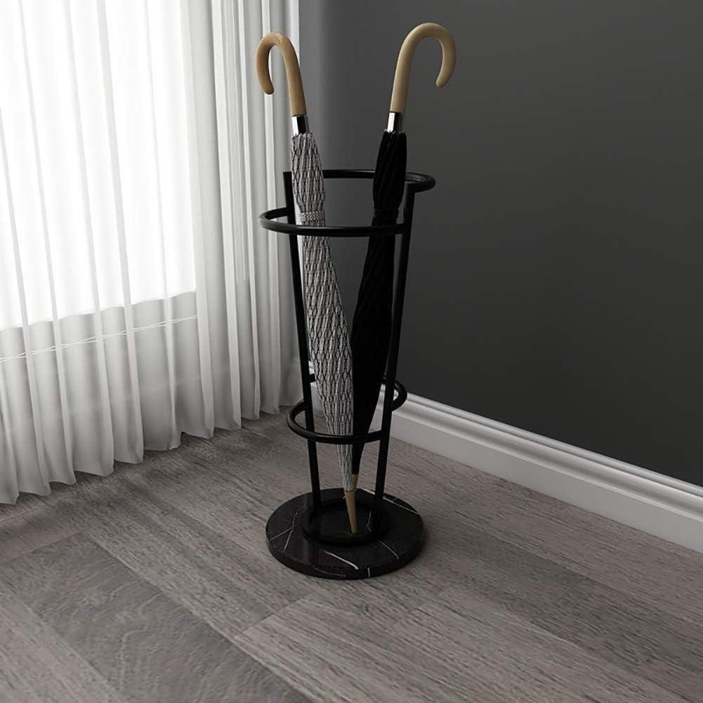 KAISIMYS Porte-Parapluie Support de Parapluie Noir Base en marbre Support de b/âton de Marche Hall dentr/ée de Stockage de Parapluie de Hall dentr/ée adapt/é /à Tous Les Types de lieux Support de
