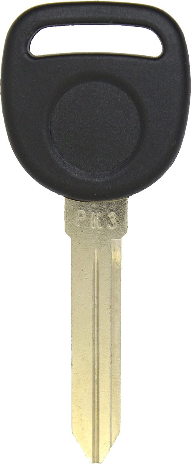 ReplaceMyRemote GM Uncut Ignition Chipped Transponder Key Blank for PK3 B99-PT One