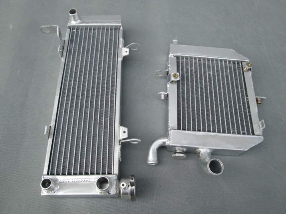 Aluminum radiator+RED hose RVF400 NC35 or NC30 VFR400 lower with fan bracket