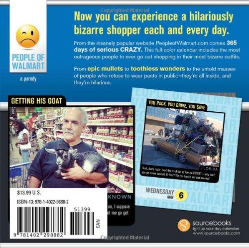 2015 People Of Walmart Boxed Calendar 365 Days Of Shop border=