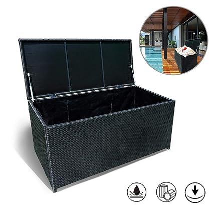 Fabulous Froadp Auflagenbox Wasserdicht Kissenbox Gartenbox Polyrattan 360L ZX38