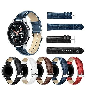 Tabcover for Galaxy Watch (46mm) Correa,22mm [Crocodile] Soft ...