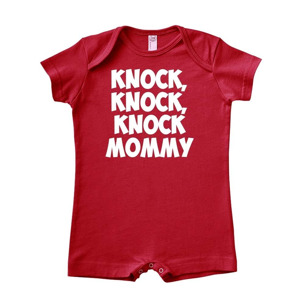 Knock Knock Baby Romper Knock Mommy