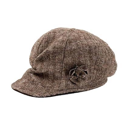 CJC Sombrero Clásico Ajustable Moda Ornitorrinco Hiedra Irlandesa Calentar Gorra Vendedor De Periódicos 4 Colores (