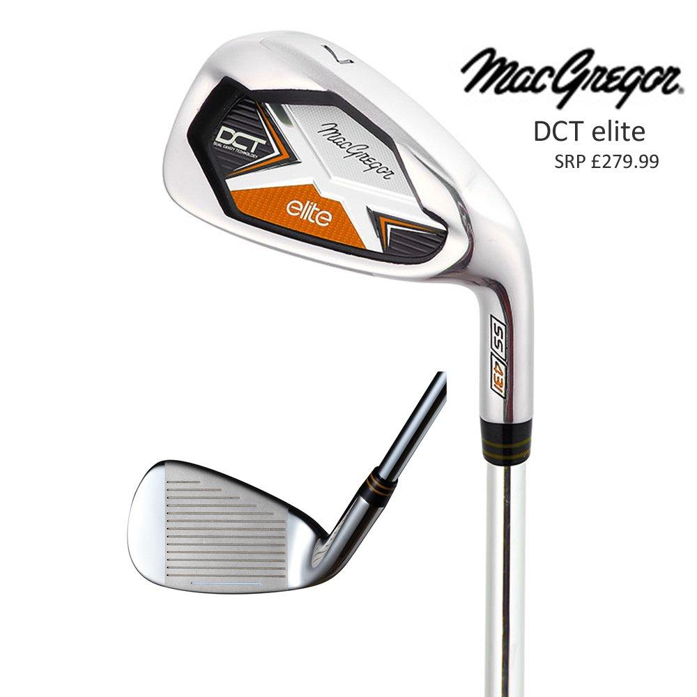 MacGregor Golf SES Elite hierros 5-SW (7 hierros) Rifle ...