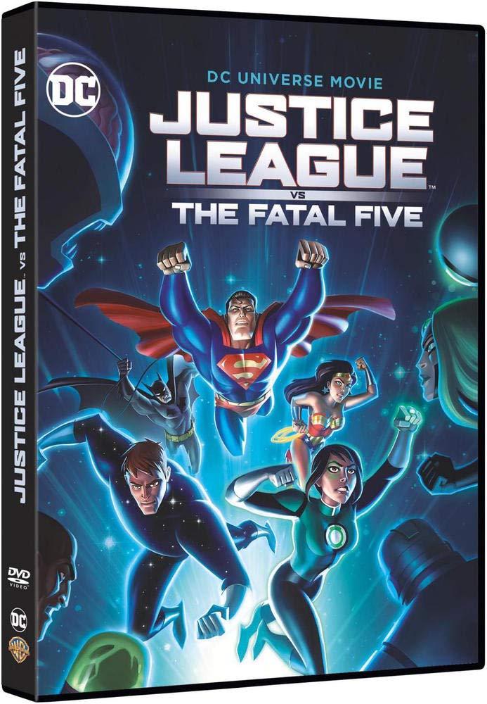 Justice League vs The Fatal Five [Italia] [DVD]: Amazon.es ...