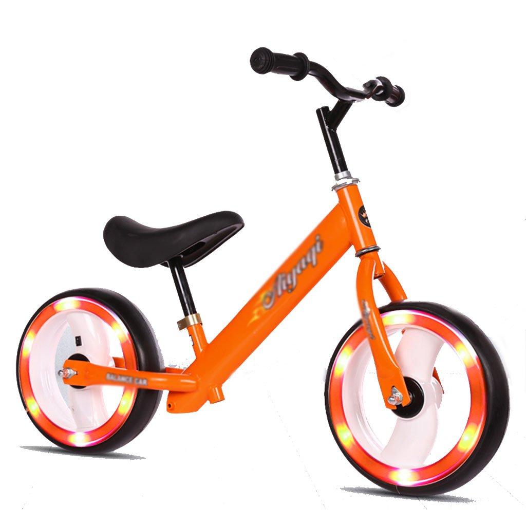100%の保証 フラッシュホイールスライディングカーウォーカーベビーノーペダル子供スクーターバイクキッズおもちゃダブルホイール2-6歳 B07FZ7NH33 B07FZ7NH33 Orange, 蒟蒻糖質制限クラブ:fe99a648 --- a0267596.xsph.ru