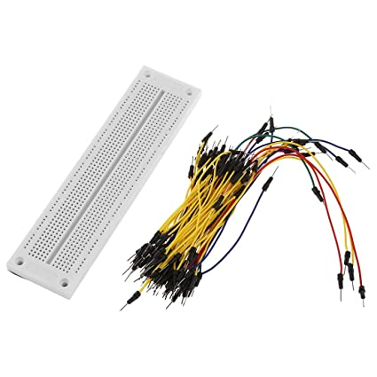 MB102 830 Kontakte Steckboard Breadboard Steckbrett Kabelsatz Jumper Wire holes
