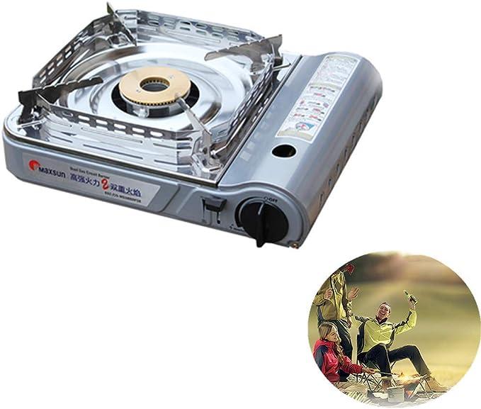 CROWNXZQ Estufa de Cassette, Parrilla portátil, Estufa de Gas ...