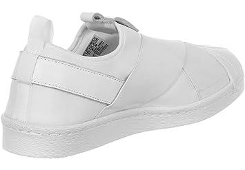 adidas S81338 Superstar - Zapatillas Deportivas para Mujer, Mujer, S81338, Blanco/Negro, Size UK 9.5: Amazon.es: Deportes y aire libre