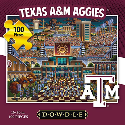 Jigsaw Puzzle - Texas A&M University Aggies-A&M-100 Pc By Dowdle Folk Art