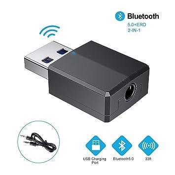 Adaptador Bluetooth,Transceptor de Audio inalámbrico y Receptor ...