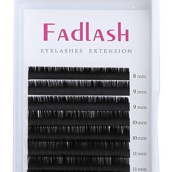 ff55cbd6c3a D Curl Eyelash Extensions 0.07mm 8~14mm Mixed Tray Individual Silk Eyelash  Extensions Supplies