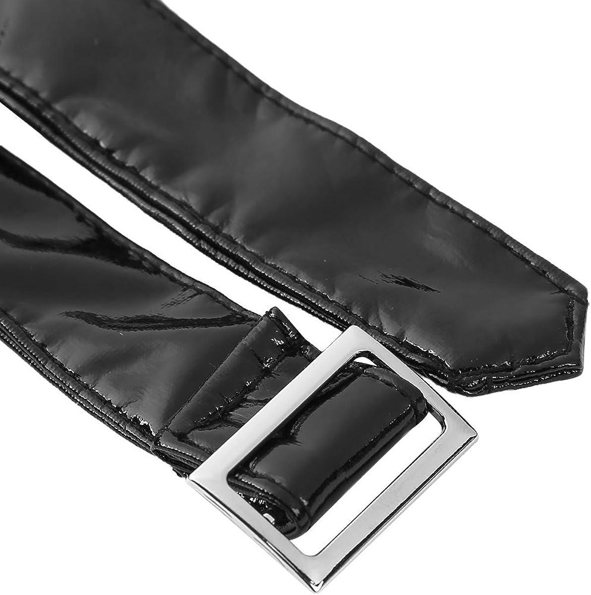 iEFiEL Womens Welook PVC Leather Zipper Side Studded Booty Shorts Hot Pants Clubwear