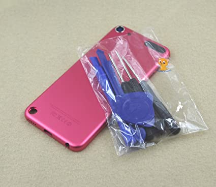 Back Rear Metal Housing Case Cover Backplate for Blue iPod Touch 6th Gen 128GB