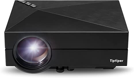 Tiptiper Proyector Full HD LED Vídeo 1000 Lúmenes LP-P02 Proyector ...