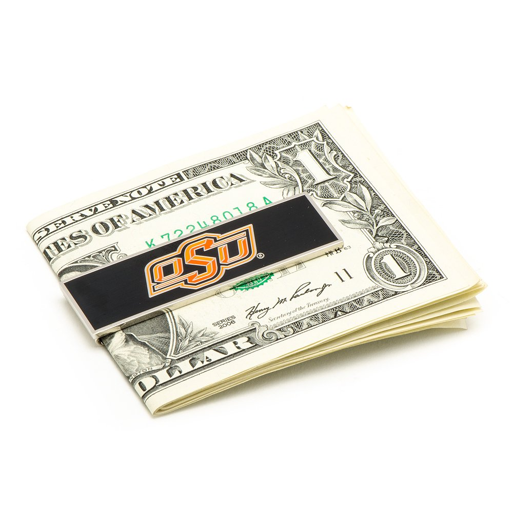 NCAA Oklahoma State Cowboys Money Clip Officially Licensed