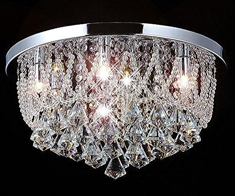 Kronleuchter Deckenlampe Lampe Kristall Strass Hängelampe Designer Lüster Led ~ Led deckenlampe glas kristall strass kronleuchter lüster