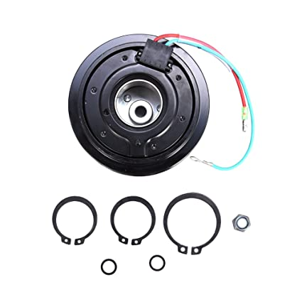 Amazon.com: ACUMSTE AC A/C Compressor Clutch Pulley Bearing Coil Plate For Honda Civic 2001-05 1.7L: Automotive