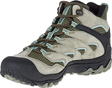 Merrell Cham 7 Limit Mid Waterproof, Zapatillas de Senderismo para Mujer, Verde (Dusty Olive), 37 EU: Amazon.es: Zapatos y complementos