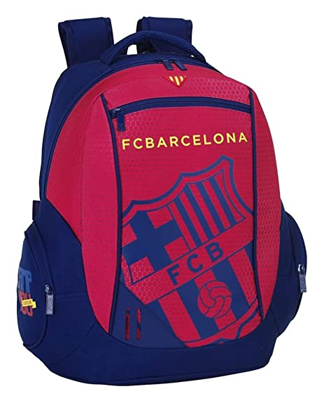 Safta 077067 F.C. Barcelona Mochila Tipo Casual, Color Azul y Granate: Amazon.es: Zapatos y complementos