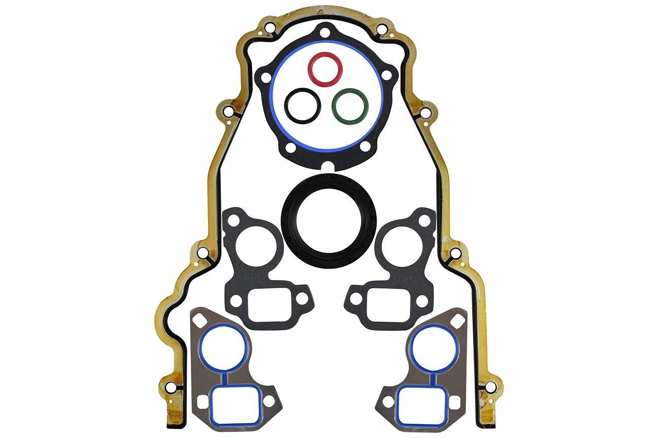 LS Timing Cover Gasket Set Cam Swap 4.8 5.3 5.7 6.0 LSX LS1 LQ4 LQ9 LS2 LS3 LS7 Seal Crankshaft 511312
