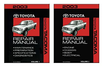 amazon com bishko automotive literature 2003 toyota tacoma shop rh amazon com 2006 Toyota Tacoma Repair Guide 2005 Toyota Tacoma Wiring Diagram
