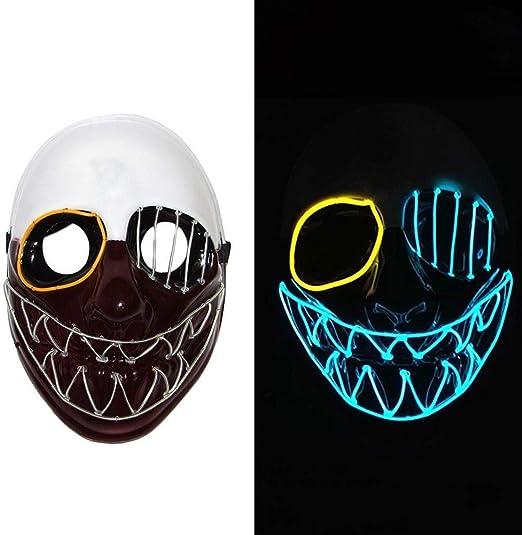Lorenory Máscara de Halloween Máscaras de Purga Elección Disfraz ...