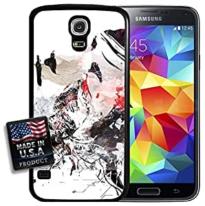 Digital Graffiti Girl Galaxy S5 Hard Case