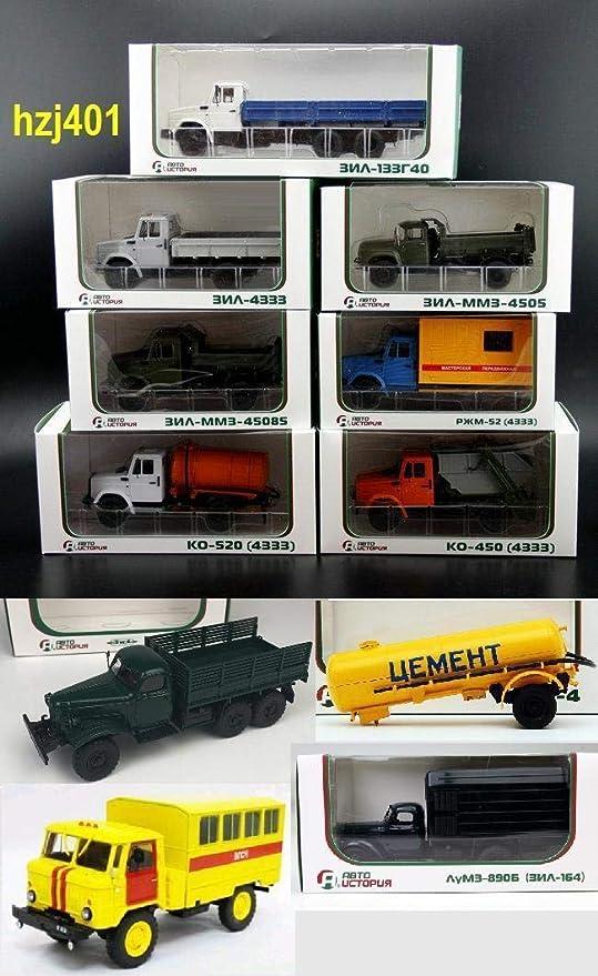 1//43 SSM//ABTO ZIL 130 164 KRAZ ARMY DUMP Tanker ZIS-157K GAZ 66 BOX POOR