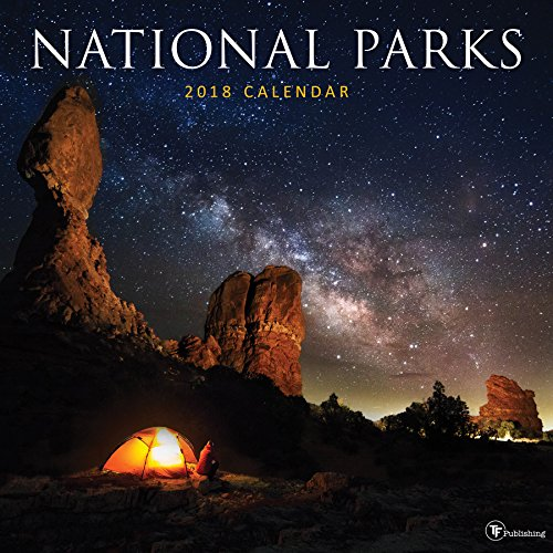 2018 National Parks Wall Calendar cover